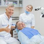 Заключительный этап лечения у стоматолога
