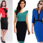 Модные офисные платья на осень-зиму 2019-2020