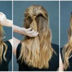 Красивые причёски на 1 сентября на длинные волосы в 9 класс