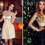 Модные платья на Новый год 2020