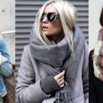 Как стильно завязать платок на шее