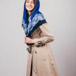 7 способов: как красиво завязать платок на голове