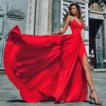 Модные длинные платья 2021