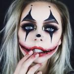 Грим на Хэллоуин для девушки в домашних условиях