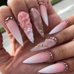 Дизайн острых ногтей в 2021 году